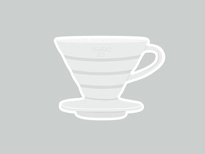 Hario 02 hario pourover coffee v60