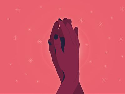 Touch art love hand pink vector design cute illustrator art illustrator illustration