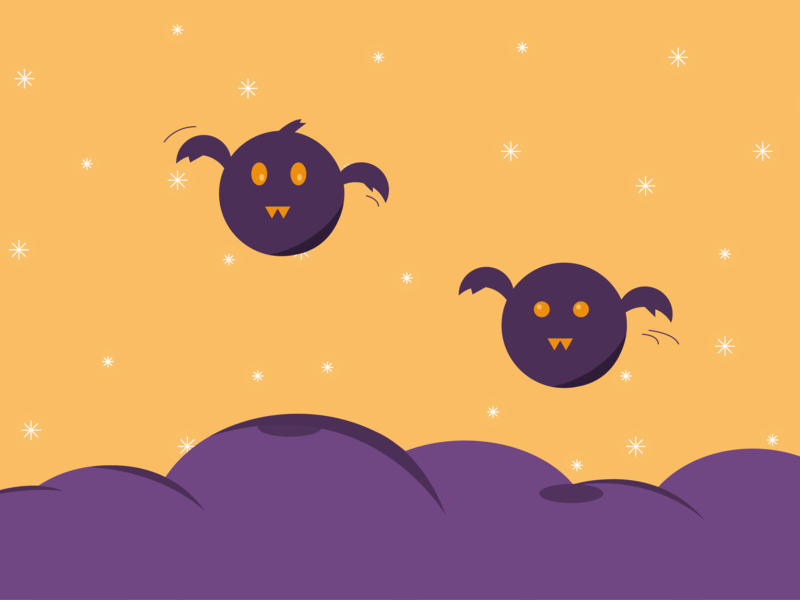 Bat halloween bat illustrator art illustration illustrator