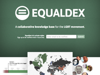 Equaldex.com Landing Page