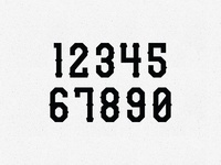 Typeface Pt. 2: Numbers