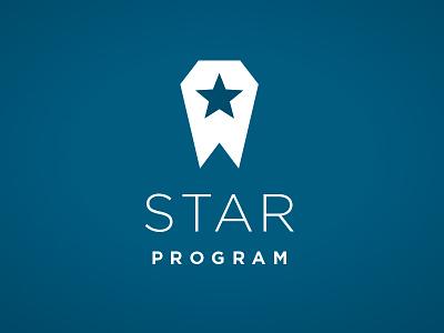 Star Logo 3 logo mark star space branding icon identity prototype blue polygon angular color