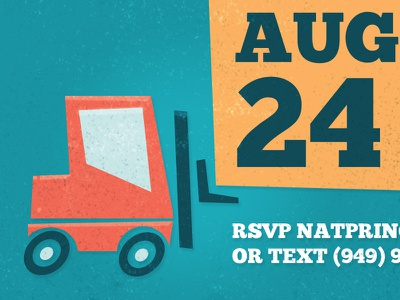 Van Birthday Invite 2 birthday invite invitation truck tractor crane typography firetruck construction kid van