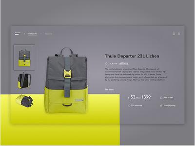 Thule Backpack Departer 23L orders ukraine spopping online shop online store departer thule backpack