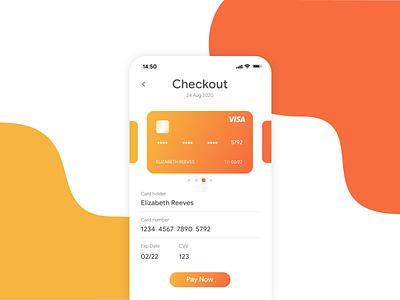 Daily UI Challenge #002 | Credit Card Checkout checkout design dailyuichallenge money ui ux app