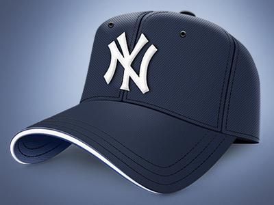 Yankees Baseball Cap baseball yankees cap hat sports icon app illustration