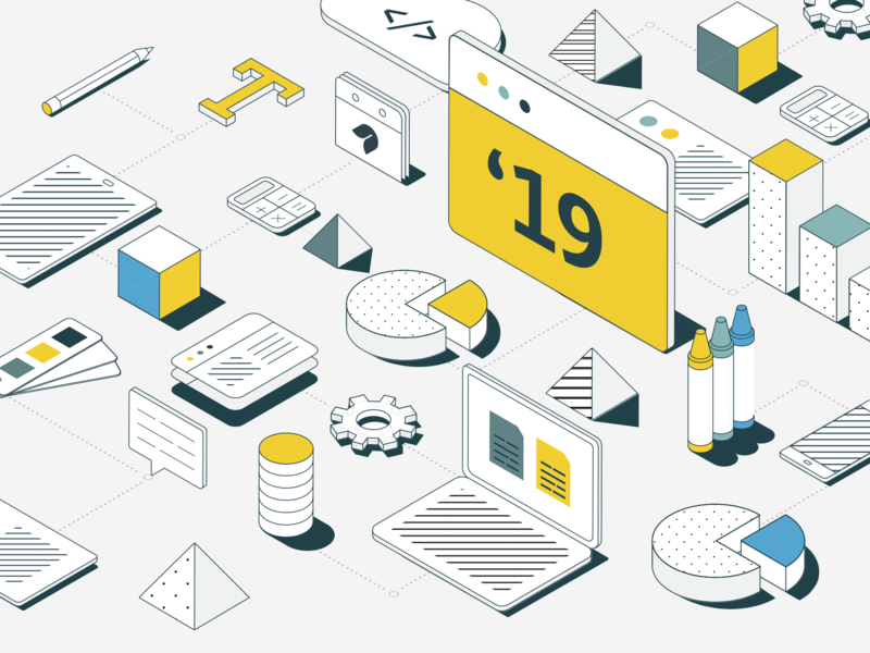 Design Development designer illustration isometric