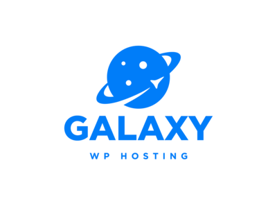 Galaxy WordPress hosting hosting saturn moon shuttle stars space galaxy