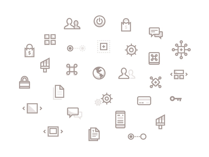 Some unused icons icons stoke gray sepia web site illustrations