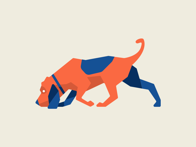 Release the hounds dog illustration hound search