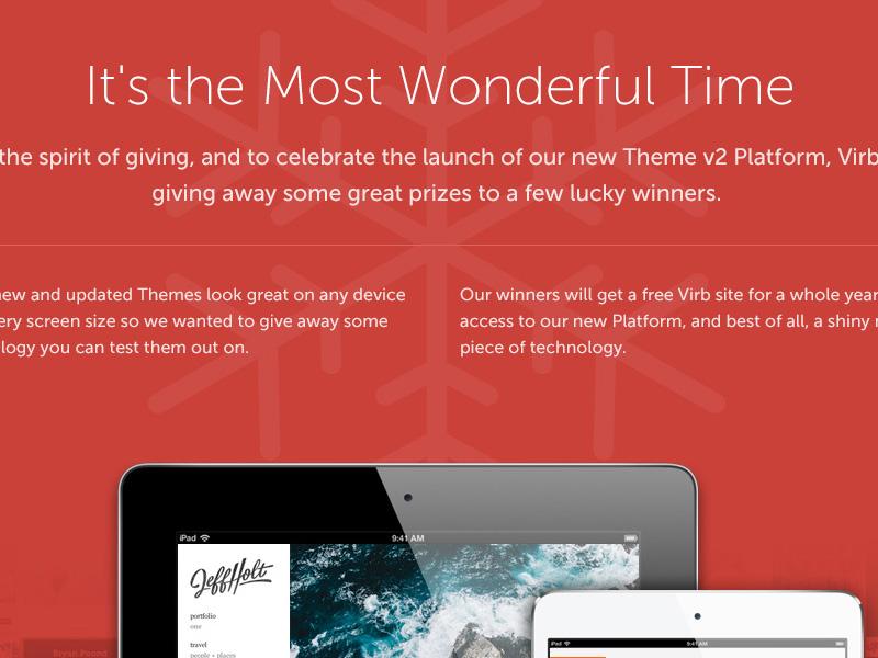 Virb Holiday 2012 virb holiday free tweet ipod ipad icons