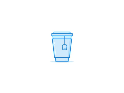 Take Away Cup hot drink vector icon drink cafe coffee take away tea paper cup