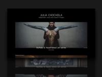 Julia Chochola - portfolio concept