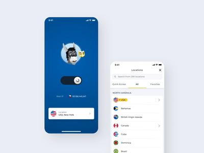 HMA VPN redesign