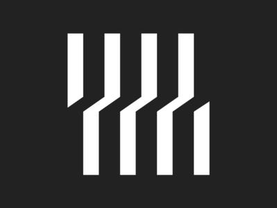 POMC Logo Design icon geometric design logotype design symbol vector minimal logo branding design