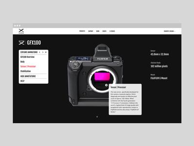 UI&UX 3D Explorer Demo Design black  white minimal graphicdesign uiux ux ui design