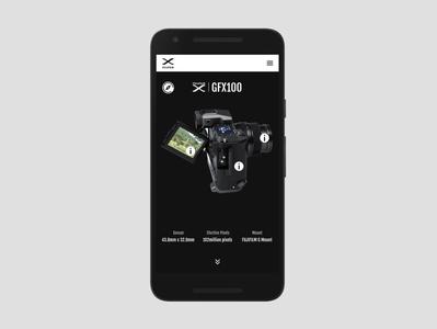 UI&UX 3D Explorer Demo Design | mobile 3d uiux design uiux app minimal ux ui design