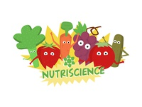 Nutriscience Logo and Illustration