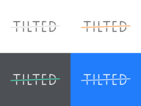 Tilted Wordmark