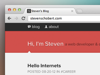 Blog Launched (Finally!)