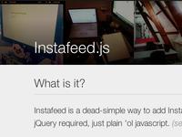 Instafeed.js