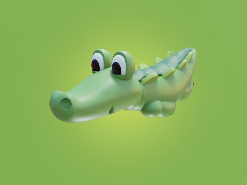 Alligator Pet Toy
