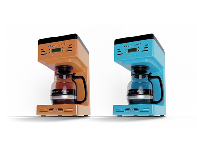 Coffee Maker product blendercycles render blender3d blender machine cafe coffe