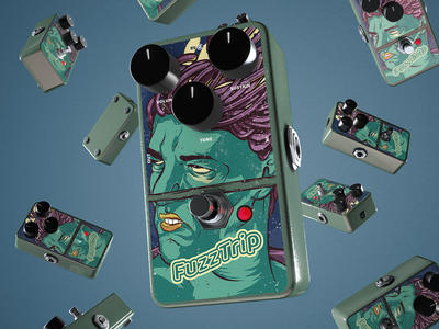 Guitar Pedal Mock Up 2