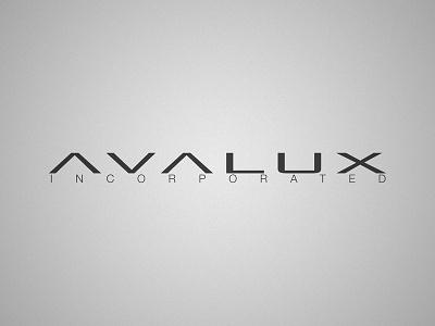 Avalux Logo logo clean studio agency orlando wordmark black and white