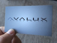 AVALUX Business Cards