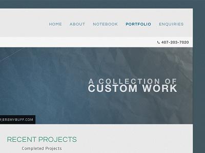 New Personal Portfolio personal portfolio dark gradient clean modern sleek professional bootstrap