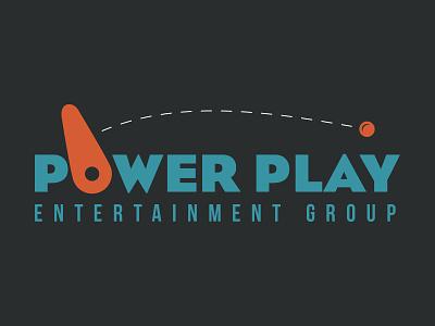 Arcade Provider Logo orange blue games logo games arcade