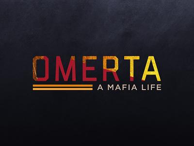 Omerta Mafia Game Logo mafia game dark logo