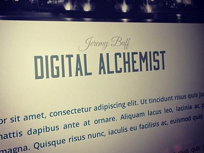 Digital Alchemist