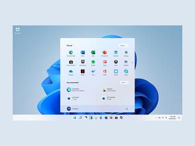 Windows 11 windows tiles start menu ui design microsoft design fluent design sunvalley concept product design virajaher windows 11 glass glassmorphism windows 10 ui windows 11 ui windows 11 microsoft glass ui glass