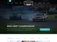 The Low Life Spec Homepage Design
