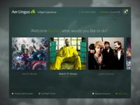 Aer Lingus Inflight Entertainment Concept