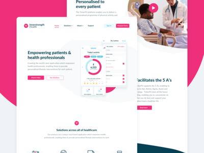 Innerstrength Health Website