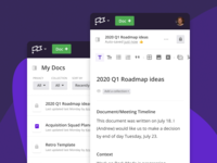 Write On The Go collection filter share toolbar clubhouse document write collaboration team wiki