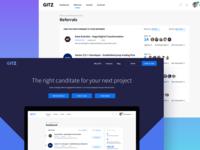 Hiring platform for developers