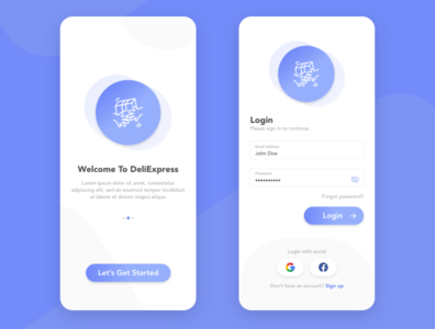 Login Design adobexd login mobile design ux uxui
