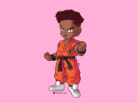 Goku Wakanda