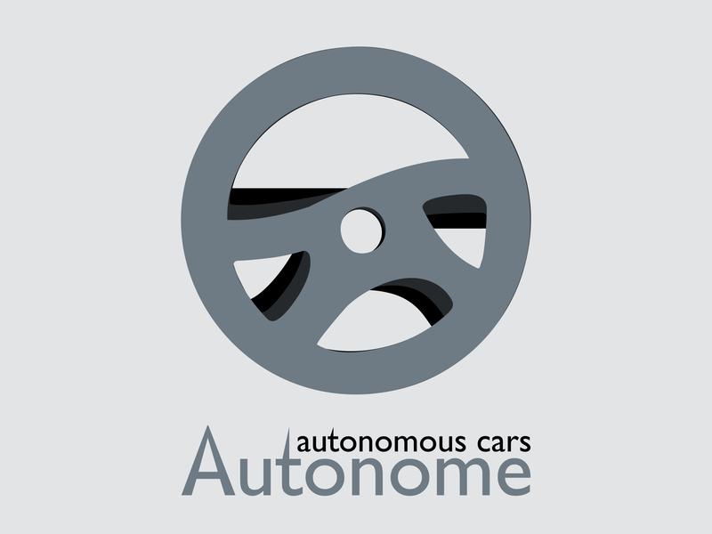 Day 05 Driverless Car Logo By Denitsa Dribbble Dribbble