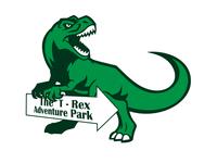 Day 35 - Dinosaur Amusement Park Logo
