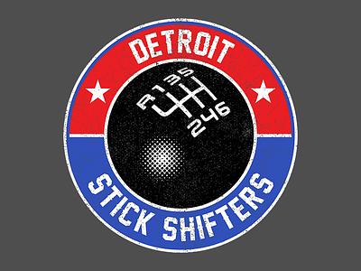 Detroit Stick Shifters manual clutch racing driving stick