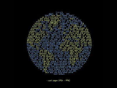 Pale Blue Dot humanity space pale blue dot carl sagan earth sagan