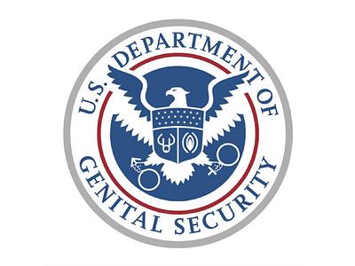 Department Of Genital Security restroom political bathroom transgender