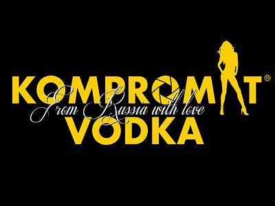 Kompromat Vodka tshirt tshirtdesign gru kgb putin pee pee tape vodka booze spoof political trump trumprussua kompromat