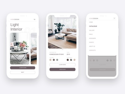 Interior design studio app
