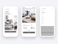 Interior design studio app